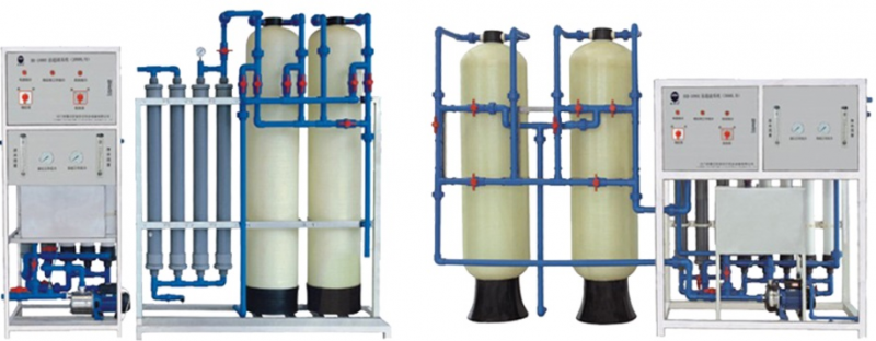 Fiber Glass Reinforced Plastic Tube Luxurious Type Pure Water Equipment