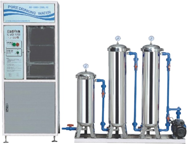 RO Membrane Pure Water System
